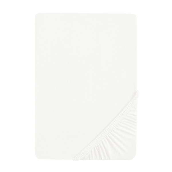 biberna Sleep & Protect Spannbettlaken (wasserundurchlässig) Molton Größe 90x200 cm, weiß