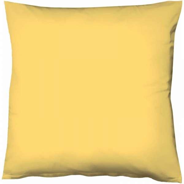 Fleuresse Mako-Satin-Kissenbezug uni colours Farbe gelb 2006