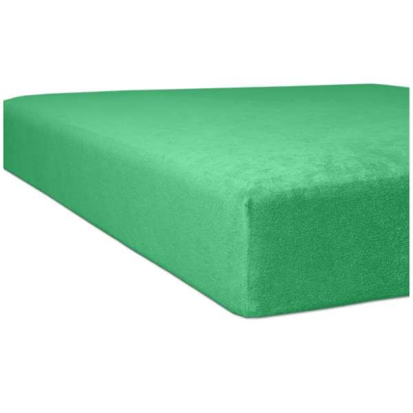 Kneer Flausch-Biber Spannbetttuch für Matratzen bis 22 cm Höhe Qualität 80 Farbe tundra