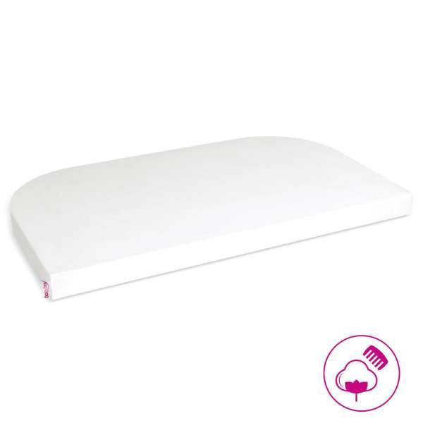 babybay Jersey Spannbetttuch für Original, Off-White