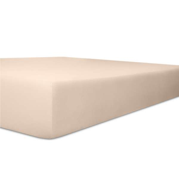 Kneer Vario Stretch Spannbetttuch Qualität 22 für Topper one zartrose Größe 140x200 cm