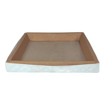 ABBCO Schaumstoffrahmen holzverstärkt für freistehendes Softside Wasserbett 000174560000