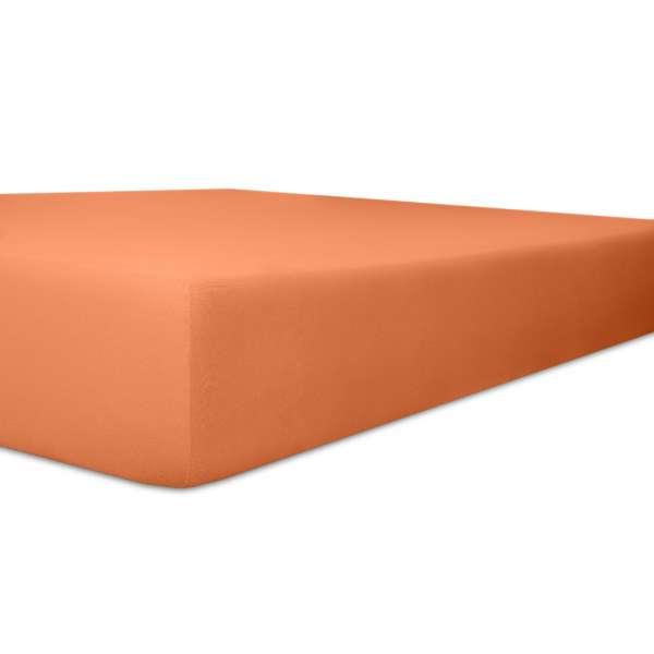 Kneer Exclusiv Stretch Spannbetttuch Qualität 93, karamel, 90-100x190-220 cm