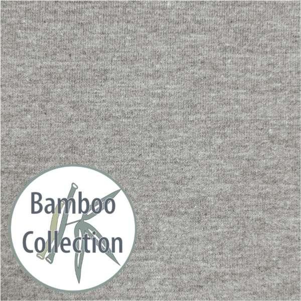 Theraline Bezug für my7, Farbe Melange Mittelgrau, Bamboo Collection