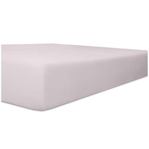Kneer Edel-Zwirn-Jersey Spannbetttuch für Matratzen bis 22 cm Höhe Qualität 20 Farbe lavendel