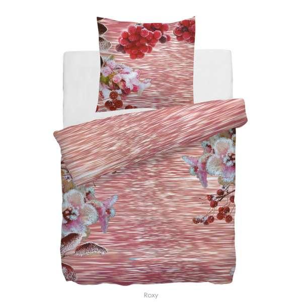 HnL Refined-Satin-Wendebettwäsche Roxy 135x200 cm rosa