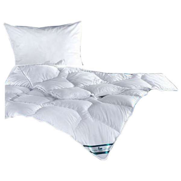 Frankenstolz Betten-Set Kansas Steppbett Größe 135x200 cm + Kissen 80x80 cm
