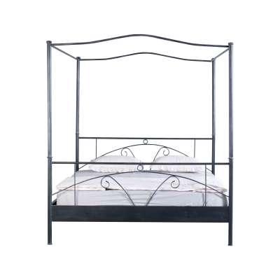 Bed Box Bett Box Metallbettrahmen Laura 1026 Himmelbett