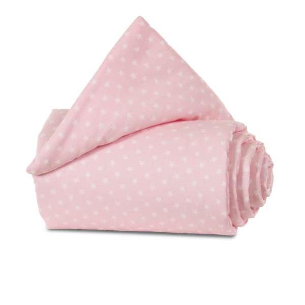babybay Nestchen Organic Cotton für Original, rose Sterne weiß