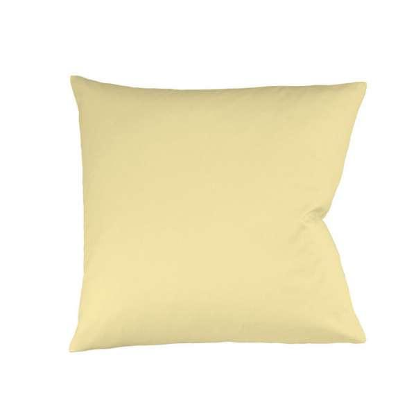 Fleuresse Mako-Satin-Kissenbezug uni colours Farbe vanille 215