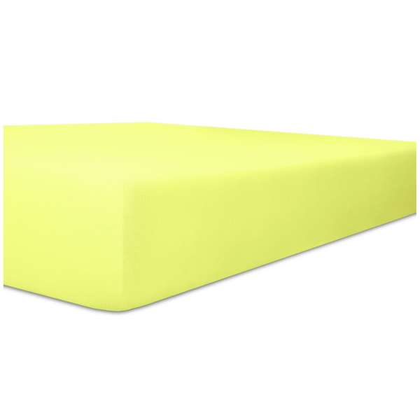Kneer Single-Jersey Spannbetttuch für Matratzen bis 20 cm Höhe Qualität 60 Farbe lilie