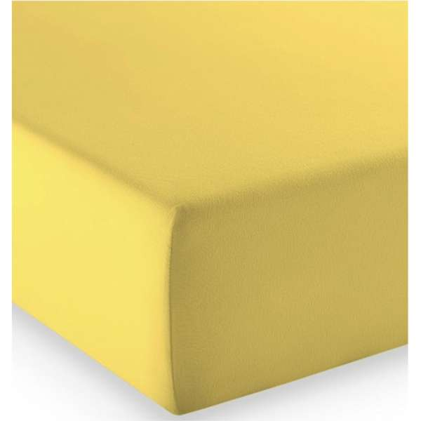 Fleuresse Mako-Jersey-Spannlaken comfort Farbe gelb 2006