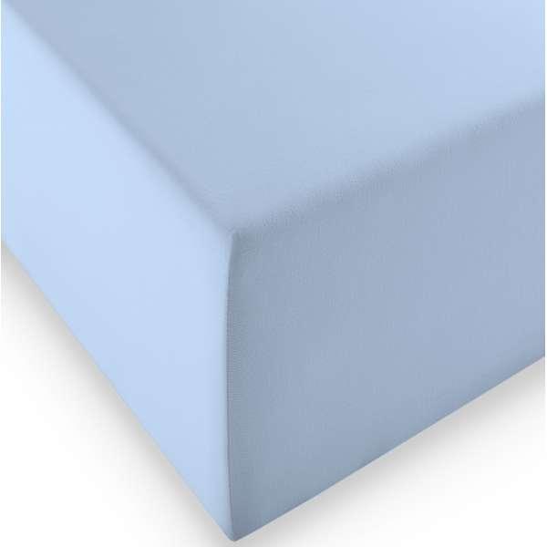 Fleuresse Boxspring- und Wasserbetten Jersey-Spannlaken comfort XL Farbe 6056 bleu