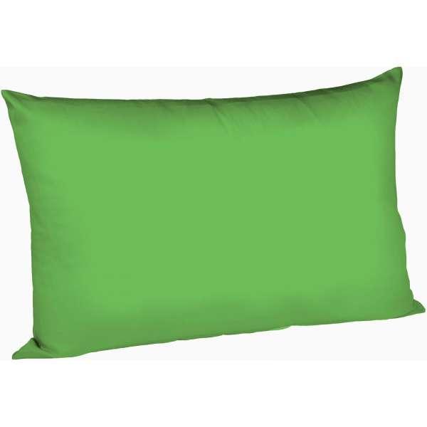 Fleuresse Mako-Satin-Kissenbezug uni colours, 7048 grasgrün, Größe 40x60 cm