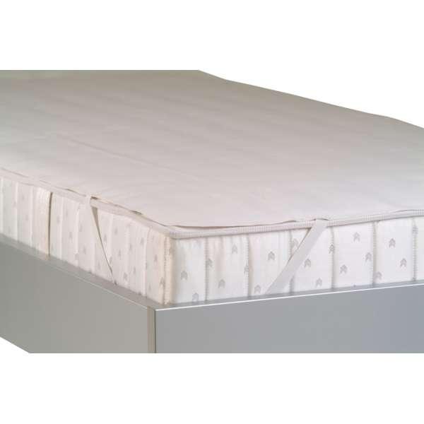 BADENIA kochfeste Matratzenauflage SECURA mit Nässeschutz 200x200 cm