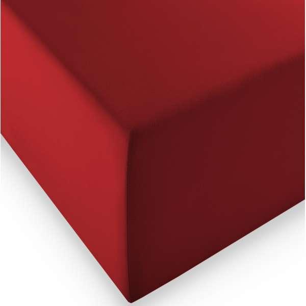 Fleuresse Boxspring- und Wasserbetten Jersey-Spannlaken comfort XL bordeaux, 90/100x200 cm