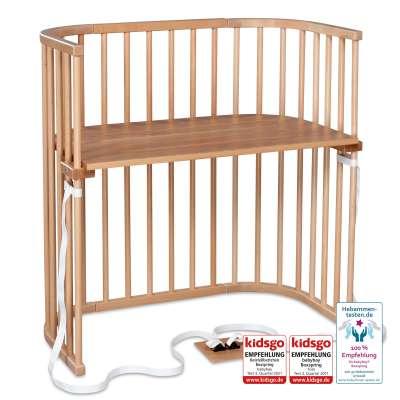 Tobi Babybay babybay Boxspring Beistellbett, natur lackiert 000130230000