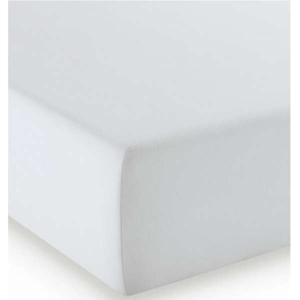 Fleuresse Mako-Jersey-Spannlaken comfort Farbe silber 978