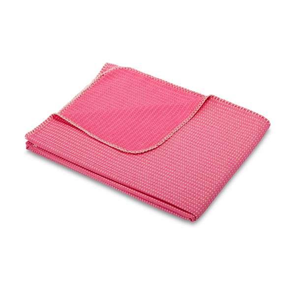 Biederlack Wohndecke Wanderlust pink, Größe 150x180 cm