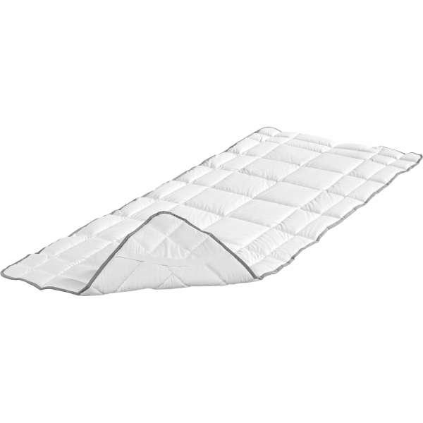 BADENIA Baumwoll Matratzen-Spannauflage Clean Cotton 200x200 cm