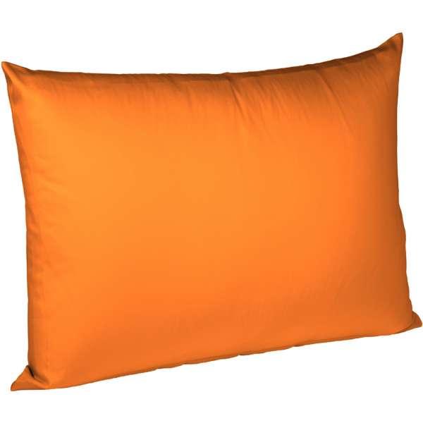 Fleuresse Interlock-Jersey-Kissenbezug uni colours orange 2044 Größe 40x60 cm