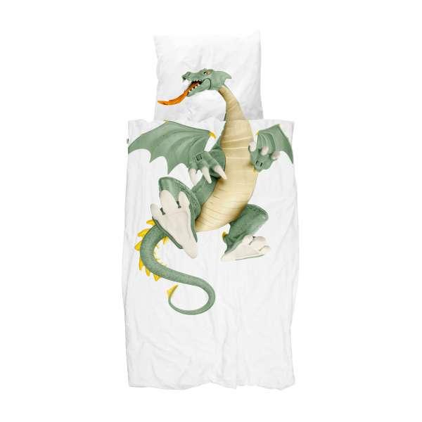 Snurk Bettwäsche Dragon, Größe 135x200/80x80 cm