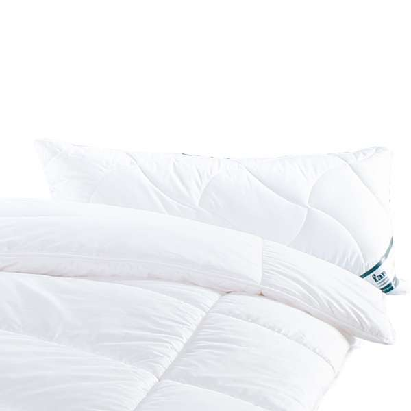 Frankenstolz Kissen Klima Active Plus Schlafkissen 40x80 cm gesteppt