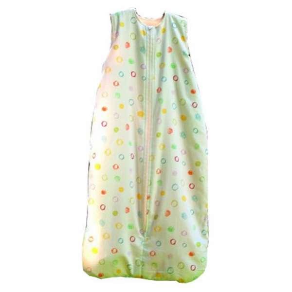 Cotonea Baby- und Kinder Teddyplüsch-Schlafsack Größe 110 Kritzelkreise
