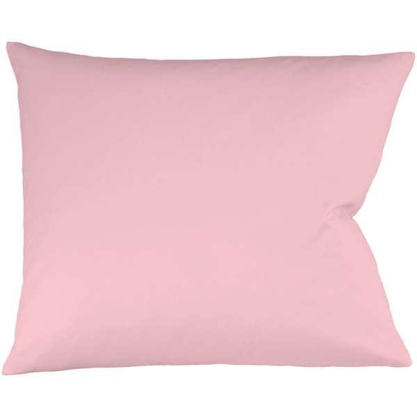 Fleuresse Interlock-Jersey-Kissenbezug uni colours 4040 rose Größe 35x40cm