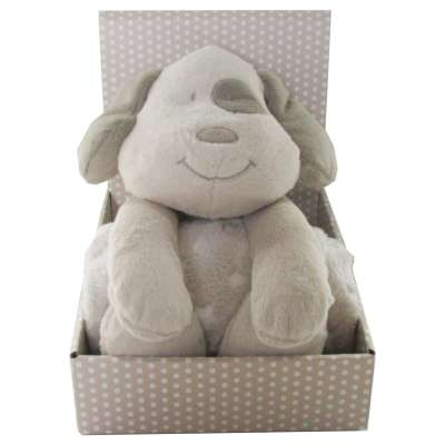 Biederlack Kids Dream Hund mit Kuscheldecke 75x100 cm 000208940000