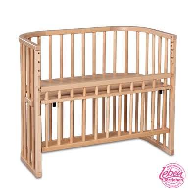 Tobi Babybay babybay COMFORT Beistellbett, natur lackiert