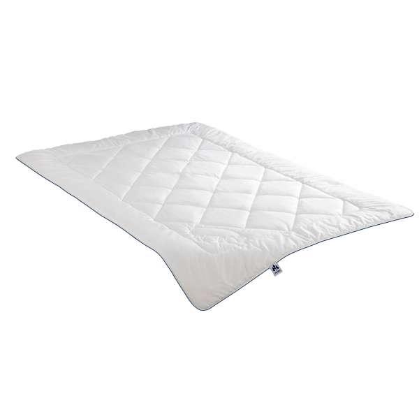 Irisette Steppbett Waschwolle leicht, Sommerdecke, Größe 155x200 cm
