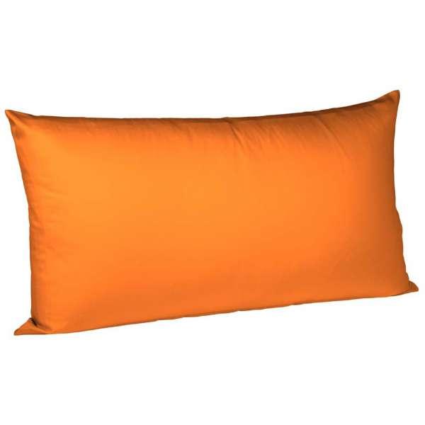 Fleuresse Interlock-Jersey-Kissenbezug uni colours orange 2044 Größe 40x80 cm