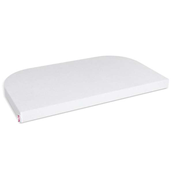 babybay Frottee Spannbetttuch für Maxi, Boxspring, Comfort, weiß