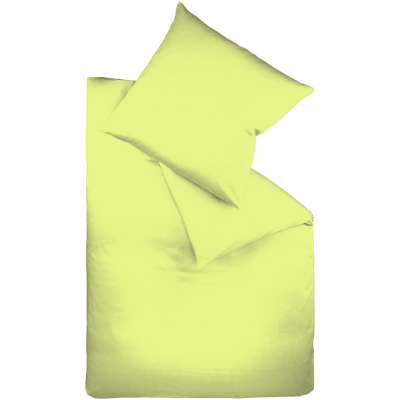 Fleuresse Mako-Satin-Bettwäsche colours apfelgrün 7041