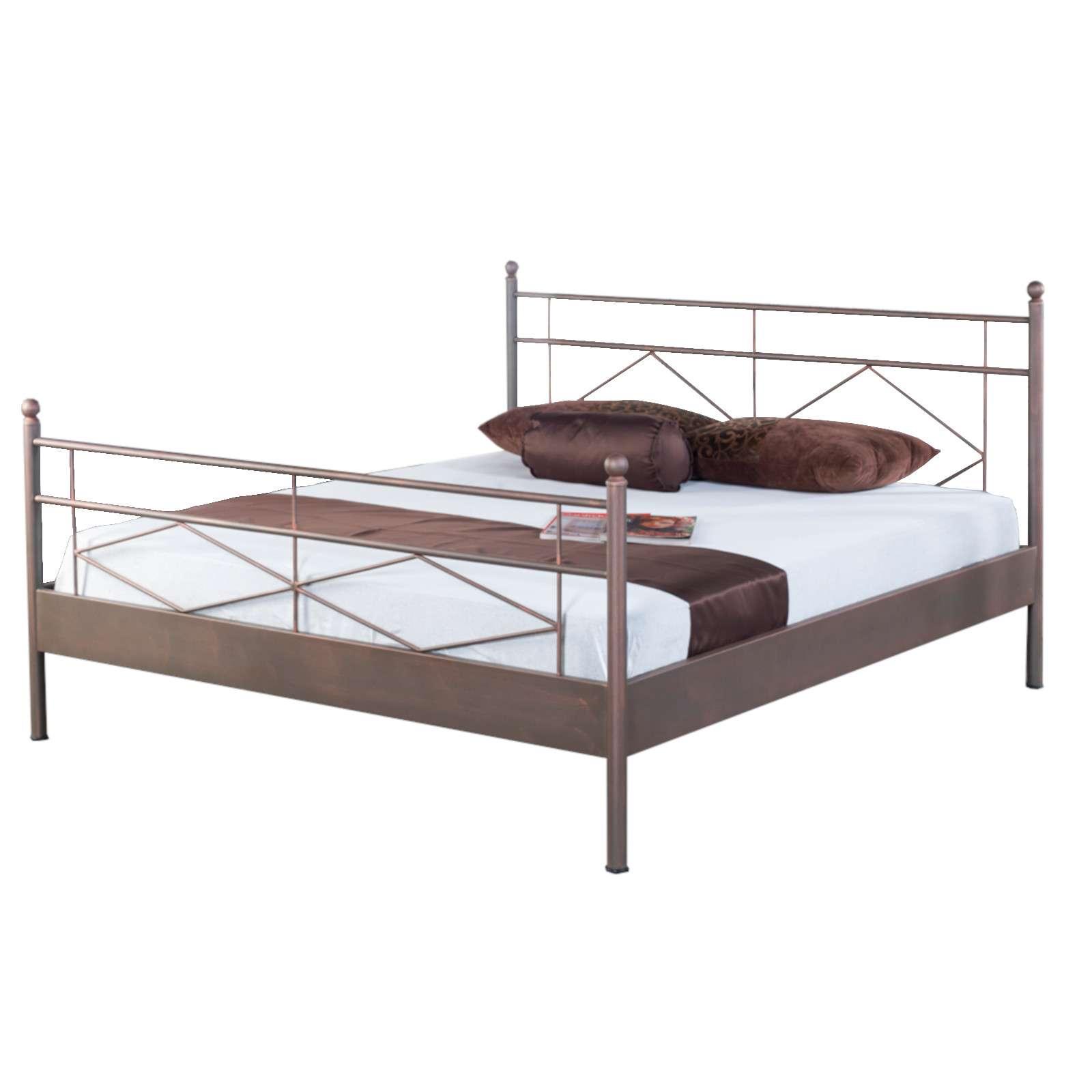 Bed Box Metall Bettrahmen Bettgestell Maria 1022 | Bettenwelt24.de