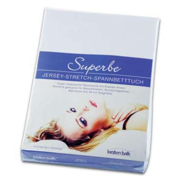Kirsten Balk Jersey- Stretch- Spannlaken SUPERBE