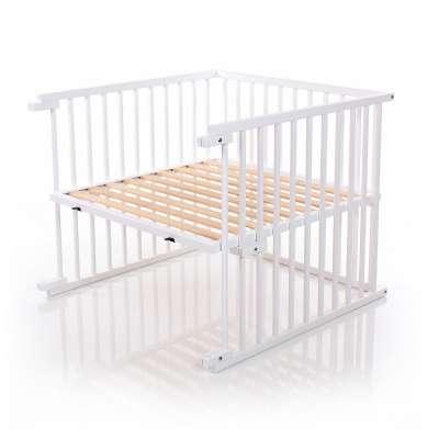 Tobi Babybay babybay Kinderbett-Umbausatz für Maxi, weiß lackiert
