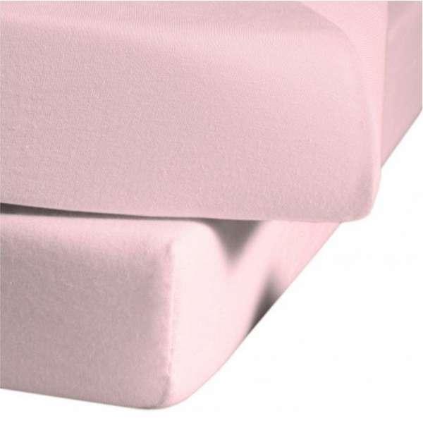Fleuresse Mako-Jersey-Spannlaken Jenny C Farbe rose 4040