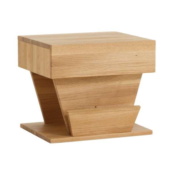 Dico Massivholz Nachttisch, Wildeiche Honig geölt