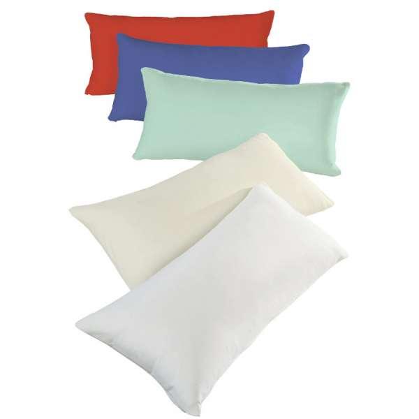 Hahn Haustextilien Seitenschläferkissen-Bezug 140x40 cm Farbe weiß
