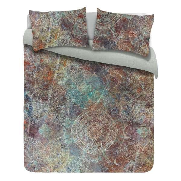 Kayori Baumwolle Satin Bettwäsche Ringo Größe 135x200 cm Farbe multi