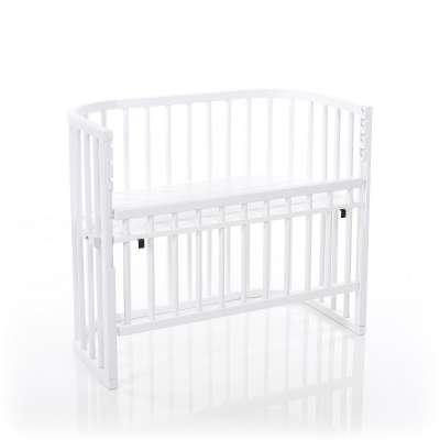 Tobi Babybay babybay COMFORT Beistellbett, weiss lackiert