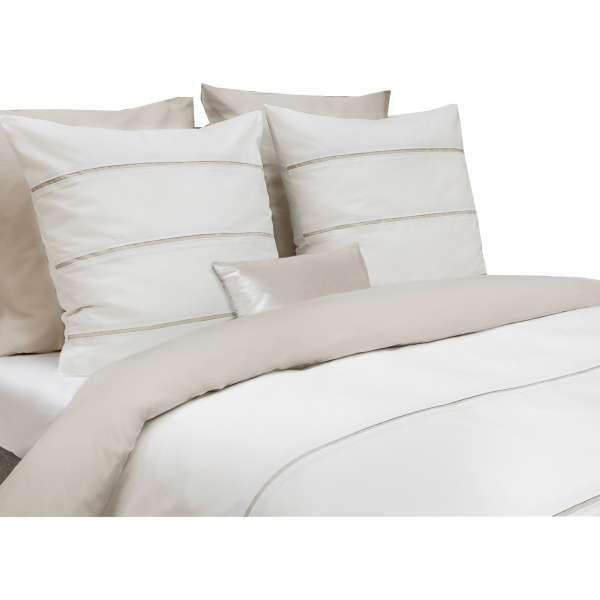 Heckett Lane Royal Cotton Bettwäsche Jason 135x200 Cm Off White